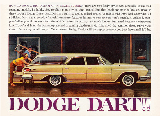 Dodge Dart Station 1961 Drive Your Dream | Vintage Cars 1891-1970