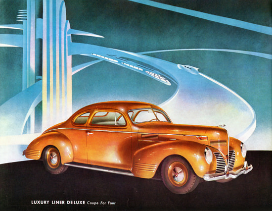 Dodge Luxury Liner De Luxe Coupe 1939 | Vintage Cars 1891-1970