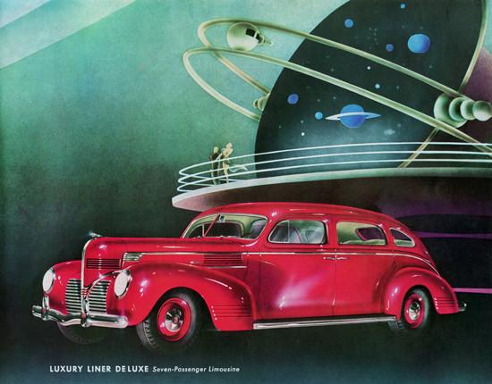 Dodge Luxury Liner De Luxe Limousine 1939 | Vintage Cars 1891-1970
