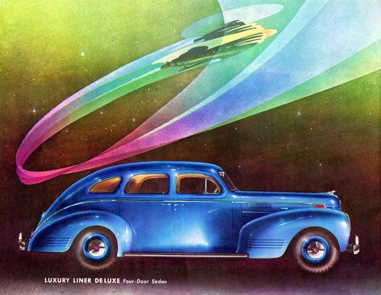 Dodge Luxury Liner De Luxe Sedan 1939   Vintage Cars 1891-1970