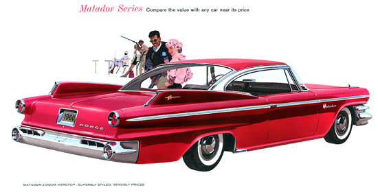 Dodge Matador 1960 Red | Vintage Cars 1891-1970