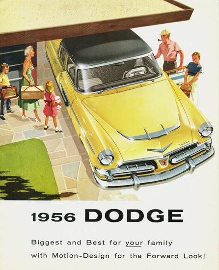 Dodge Mayfair Four Door Sedan Canada 1956 | Vintage Cars 1891-1970