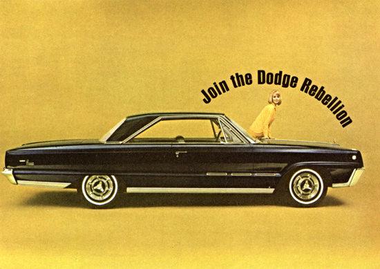 Dodge Monaco 500 1966 Join The Rebellion | Vintage Cars 1891-1970