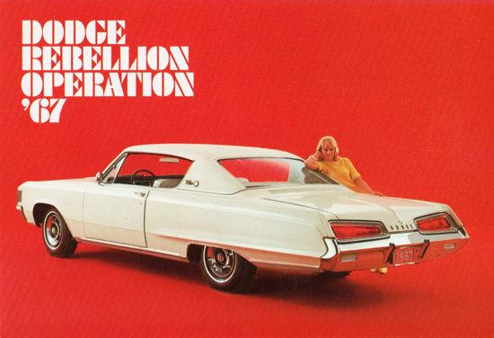 Dodge Polara 500 1967 Dodge Rebellion | Vintage Cars 1891-1970