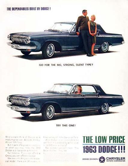 Dodge Polara Sedan 1963 Blue | Vintage Cars 1891-1970