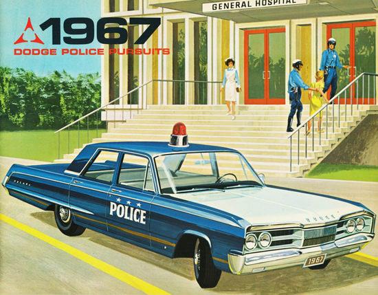 Dodge Police Pursuits 1967 General Hospital | Vintage Cars 1891-1970