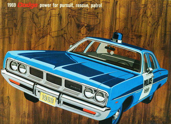 Dodge Police Pursuits 1969   Vintage Cars 1891-1970