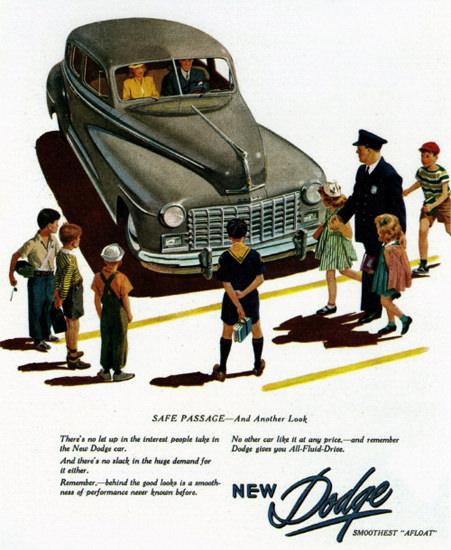 Dodge Save Passage 1947 | Vintage Cars 1891-1970