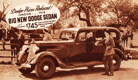 Dodge Sedan 1934 Detroit Imagine This | Vintage Cars 1891-1970