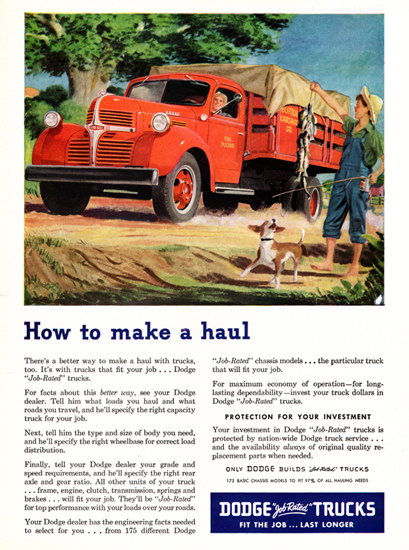 Dodge Stake Truck 1947 How To Make A Haul | Vintage Cars 1891-1970