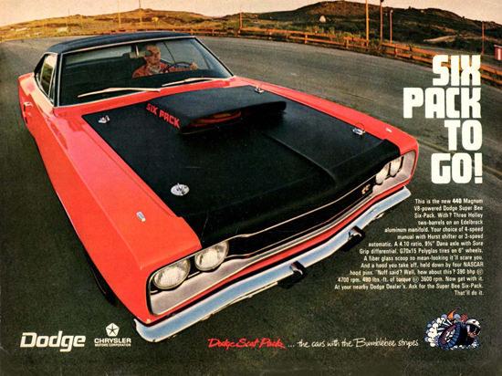 Dodge Super Bee 1969 | Vintage Cars 1891-1970