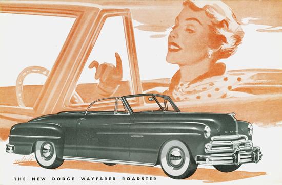 Dodge Wayfarer Roadster 1950 | Vintage Cars 1891-1970