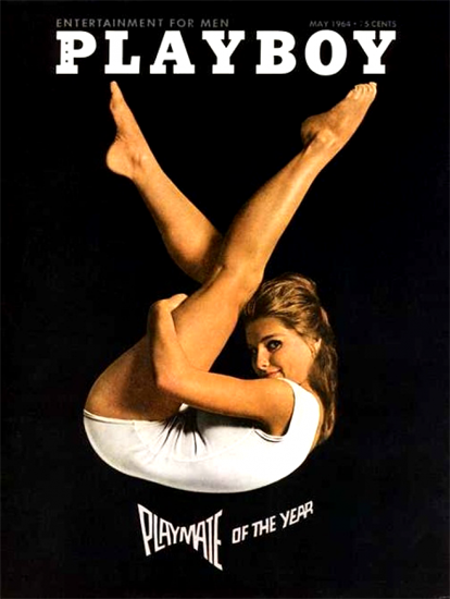Donna Michelle Playboy Magazine 1964-05 Copyright Sex Appeal | Sex Appeal Vintage Ads and Covers 1891-1970
