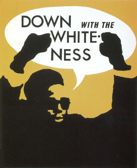 Down With The Whiteness Equal Rights USA | Vintage Ad and Cover Art 1891-1970