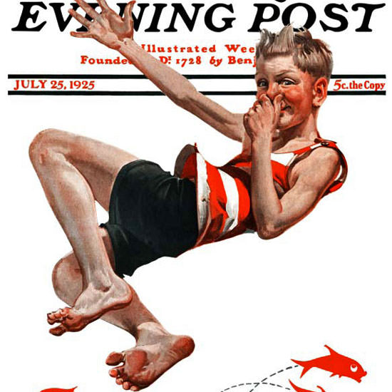 EM Jackson Artist Saturday Evening Post 1925_07_25 Copyright crop | Best of Vintage Cover Art 1900-1970