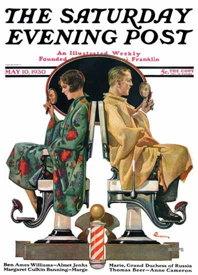 EM Jackson Saturday Evening Post 1930_05_10 | The Saturday Evening Post Graphic Art Covers 1892-1930