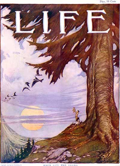 EN Clark Life Humor Magazine 1904-09-22 Copyright   Life Magazine Graphic Art Covers 1891-1936