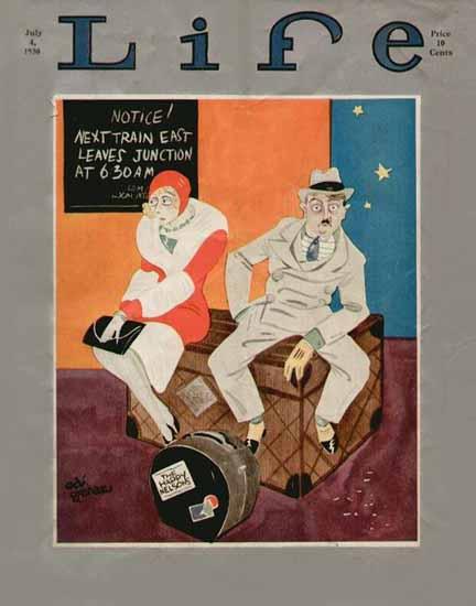 Ed Graham Life Humor Magazine 1930-07-04 Copyright | Life Magazine Graphic Art Covers 1891-1936