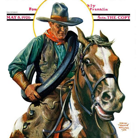 Edgar Franklin Wittmack Saturday Eve Post 1926_05_08 Copyright crop | Best of Vintage Cover Art 1900-1970