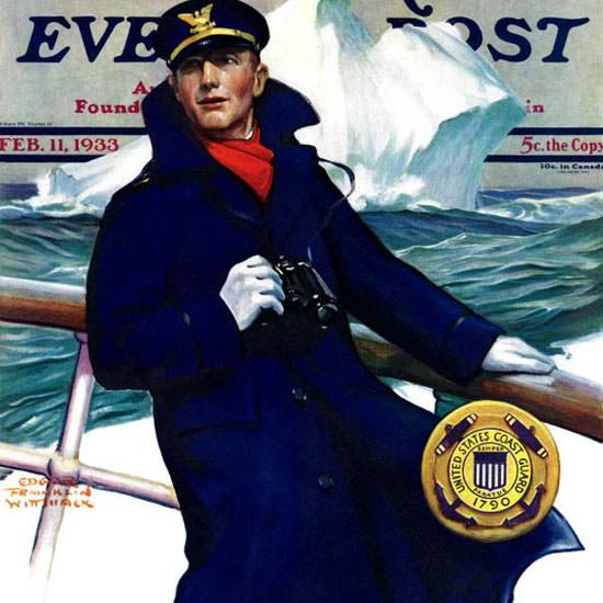 Edgar Franklin Wittmack Saturday Eve Post 1933_02_11 Copyright crop | Best of Vintage Cover Art 1900-1970