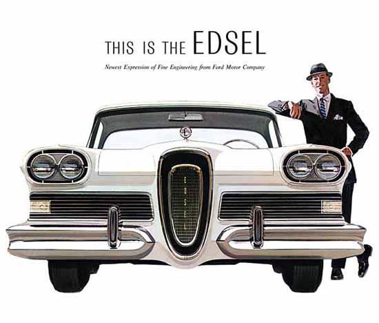 Edsel Citation 1958 Ad | Vintage Cars 1891-1970