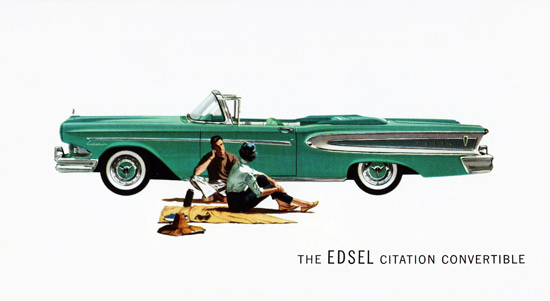 Edsel Citation Convertible 1958 | Vintage Cars 1891-1970