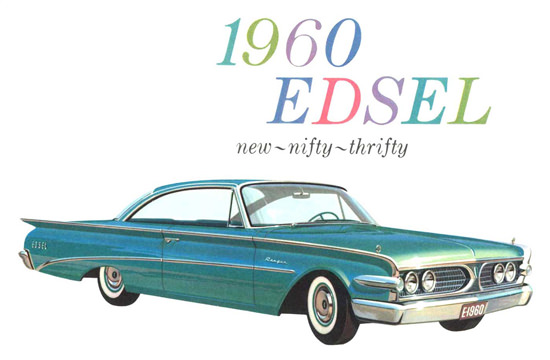 Edsel Nifty Thrifty 1960 | Vintage Cars 1891-1970