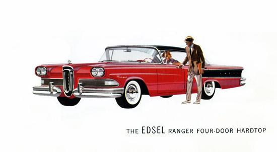 Edsel Ranger Hardtop 1958 Red | Vintage Cars 1891-1970