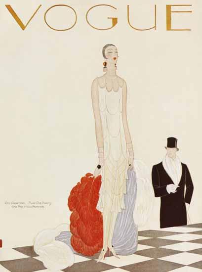 Eduardo Garcia Benito Vogue Cover 1925-12-15 Copyright   Vogue Magazine Graphic Art Covers 1902-1958