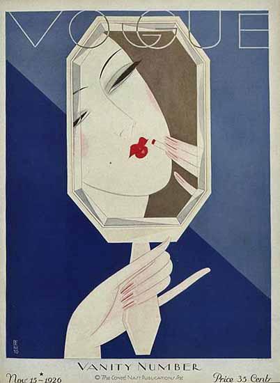 Eduardo Garcia Benito Vogue Cover 1926-11-15 Copyright | Vogue Magazine Graphic Art Covers 1902-1958