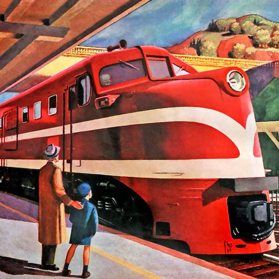 Edward Hopper American Locomotive Co New York 1944 crop | Edward Hopper Paintings, Aquarelles, Illustrations, Ads 1900-1966