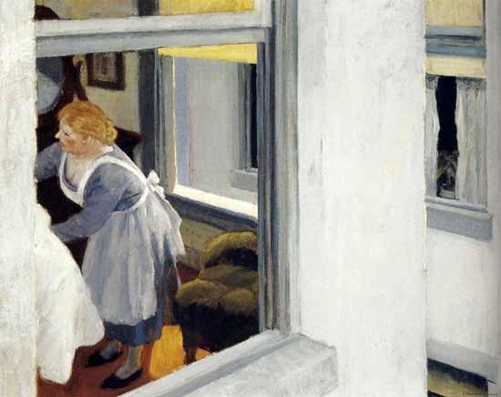 Edward Hopper Apartment Houses 1923 | Edward Hopper Paintings, Aquarelles, Illustrations, Ads 1900-1966