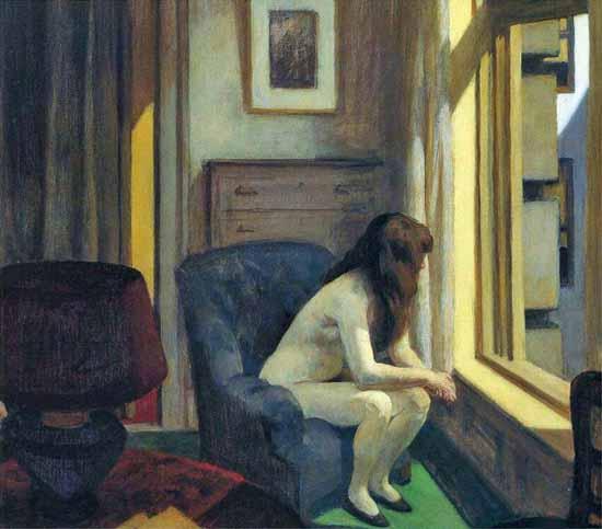 Edward Hopper Eleven AM 1926 | Edward Hopper Paintings, Aquarelles, Illustrations, Ads 1900-1966