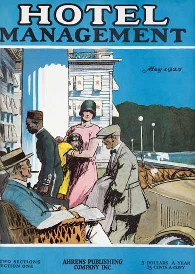 Edward Hopper Hotel Management 5-1925 | Edward Hopper Paintings, Aquarelles, Illustrations, Ads 1900-1966