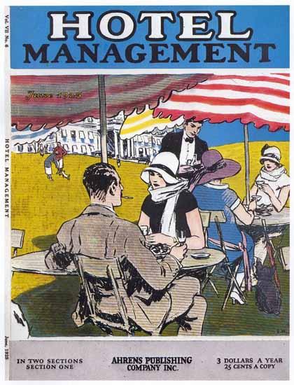 Edward Hopper Hotel Management 6-1925 | Edward Hopper Paintings, Aquarelles, Illustrations, Ads 1900-1966