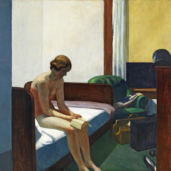 Edward Hopper Hotel Room 1931 crop A | Edward Hopper Paintings, Aquarelles, Illustrations, Ads 1900-1966