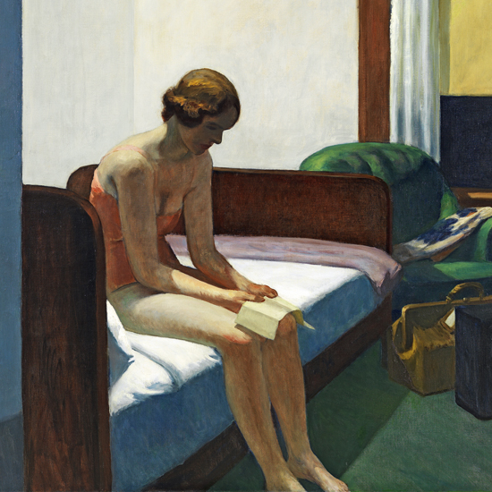 Edward Hopper Hotel Room 1931 crop B | Edward Hopper Paintings, Aquarelles, Illustrations, Ads 1900-1966