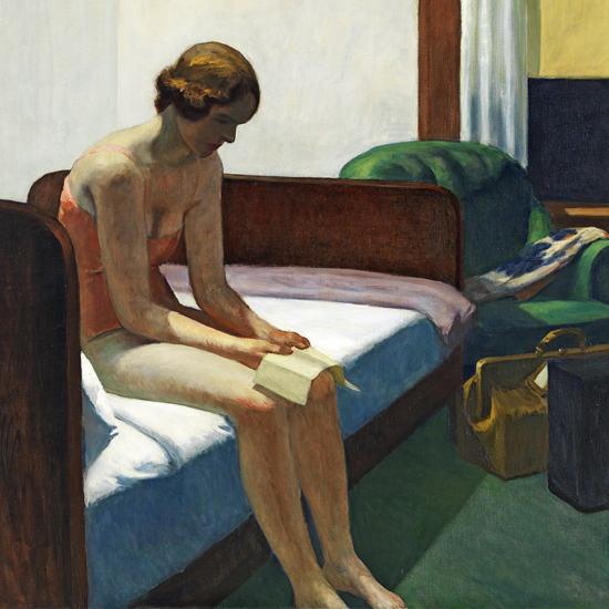 Edward Hopper Hotel Room 1931 crop C | Edward Hopper Paintings, Aquarelles, Illustrations, Ads 1900-1966