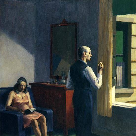Edward Hopper Hotel by a Railroad 1952 crop A   Edward Hopper Paintings, Aquarelles, Illustrations, Ads 1900-1966