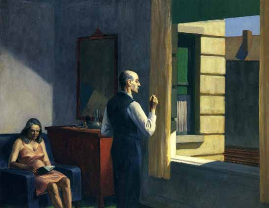 Edward Hopper Hotel by a Railroad 1952 | Edward Hopper Paintings, Aquarelles, Illustrations, Ads 1900-1966