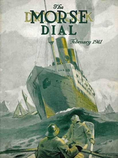 Edward Hopper Morse Dry Dock Dial 2-1921   Edward Hopper Paintings, Aquarelles, Illustrations, Ads 1900-1966