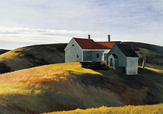 Edward Hopper Mrs Scotts House 1931 | Edward Hopper Paintings, Aquarelles, Illustrations, Ads 1900-1966