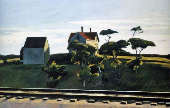 Edward Hopper New York New Haven and Hartford 1931 | Edward Hopper Paintings, Aquarelles, Illustrations, Ads 1900-1966