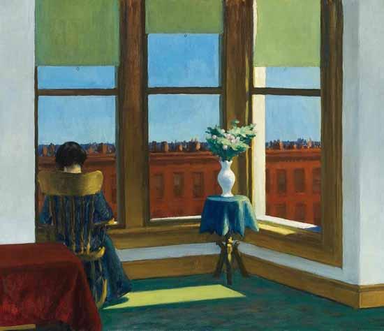 Edward Hopper Room in Brooklyn 1932 | Edward Hopper Paintings, Aquarelles, Illustrations, Ads 1900-1966