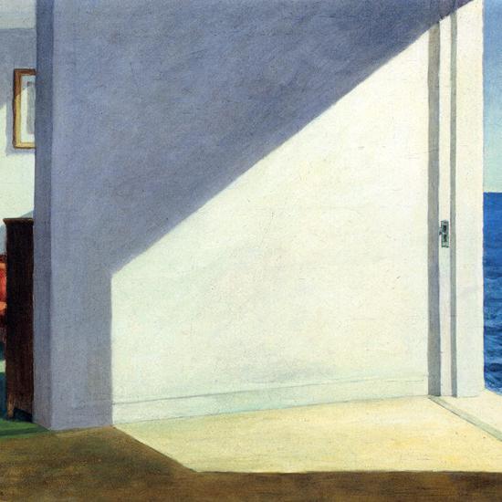 Edward Hopper Rooms by the Sea 1951 crop B | Edward Hopper Paintings, Aquarelles, Illustrations, Ads 1900-1966