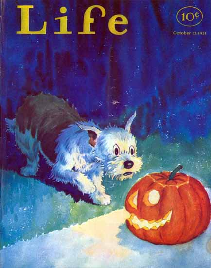 Edwina Life Humor Magazine 1931-10-23 Copyright | Life Magazine Graphic Art Covers 1891-1936