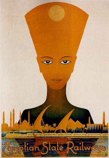 Egyptian State Railways 1938 | Vintage Travel Posters 1891-1970