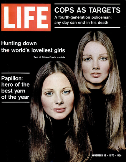 Eileen Ford Models Hunting Down 13 Nov 1970 Copyright Life Magazine | Life Magazine Color Photo Covers 1937-1970