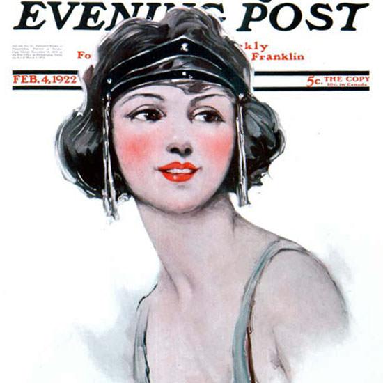 Ellen Pyle Saturday Evening Post 1922_02_04 Copyright crop | Best of Vintage Cover Art 1900-1970