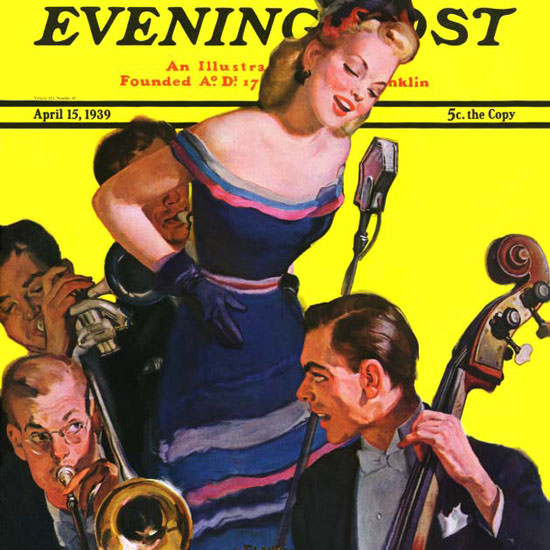 Emery Clarke Saturday Evening Post Stress 1939_04_15 Copyright crop | Best of 1930s Ad and Cover Art